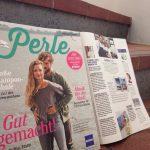 Im Budni-Kundenmagazin Perle 09/15 gibt Arlow Tipps für einen Knackpo.