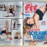 Fit For Fun- Thema des Monats 11/14: Work It Yoga.