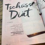 Tschüss Diät. Arlow als Experte inklusive Buchtipp in der Petra 12/16